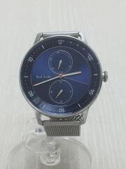 ポールスミス/クォーツ腕時計/アナログ/ステンレス/ブルー/シルバー