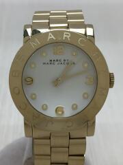 マークバイマークジェイコブス/クォーツ腕時計/アナログ/ステンレス/ゴールド/MBM3056