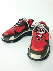 ローカットスニーカー/26.5cm/RED