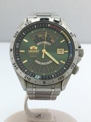 オリエント/自動巻腕時計/アナログ/グリーン/EU03-C1