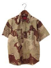 シュプリーム/Work Shirt/M/コットン/ブラウン/セキンタニ・ラ・ノリヒロ// ミリタリーシャツ カモフラ