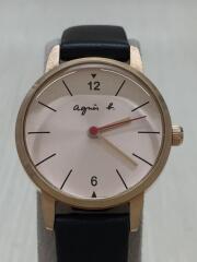 クォーツ腕時計/アニエスベー/アナログ/VJ21-KF40/ピンク