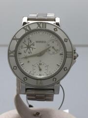 クォーツ腕時計/ワイアード/VD-76-KH80/アナログ/ホワイト
