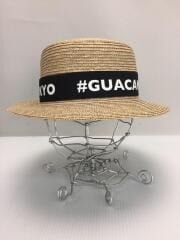 GUACAMOLE/ストローハット/FREE/
