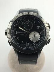 クォーツ腕時計/アナログ/BLK/H776120/E.T.O