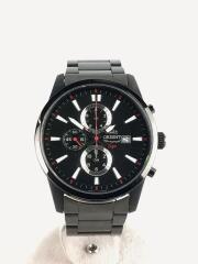 クォーツ腕時計/アナログ/BLK/TT12-D0-B