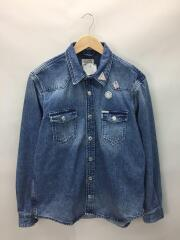 WEST REGULARFIT DENIM SHIRT/L/M01H49D3L74