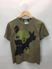 Tシャツ/M/コットン/GRN