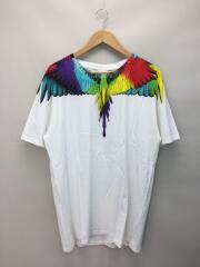 Tシャツ/XL/コットン/WHT/Sketches Wings