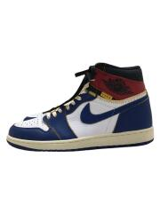 xUNION/AIR JORDAN 1 RETRO HI NRG/US10/BV1300-146/ユニオン/ナイキ