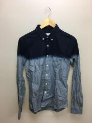 SLIM FIT SPRAY CHAMBRAY B.D SHIRT/2/コットン/12AW
