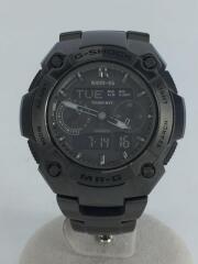 ソーラー腕時計・G-SHOCK/デジアナ/チタン/BRW/ケース付/カシオ
