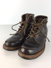 ブーツ/US7.5/BRW/レザー/セミドレス/SemiDress