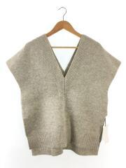 セーター(厚手)/FREE/ウール/GRY/ベスト