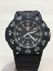 クォーツ腕時計/アナログ/ラバー/BLK/BLK/3000/3900 V3  NAVY SEAL 3000/