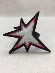 STAR/スター/ブレスレット/PVC/BLK