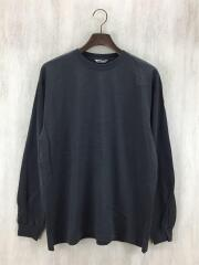 19AW/A9AP01GT LUSTER PLAITING L/S TEE/長袖Tシャツ/4/コットン/
