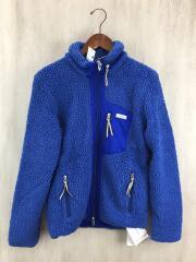 フリースジャケット/2/ポリエステル/BLU/MSEA13A1406-L/ブルー