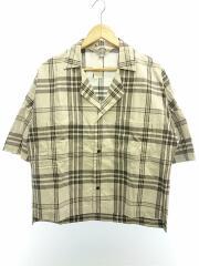 半袖シャツ/3/コットン/GRY/チェック/19SS/Check Fried Shrimp shirt/19S21