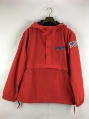 ナイロンジャケット/L/ナイロン/RED/ライトウェイトストレッチアノラックパーカー/6182139
