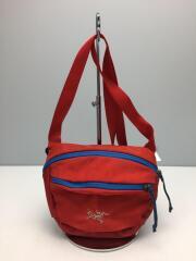 ウエストバッグ/--/RED/無地/ショルダーバッグ