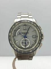 SAGA143/BRIGHTZ/ブライツ・ソーラー腕時計/アナログ/ステンレス