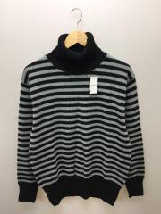 16AW/SOPH-167117/STAR ELBOW PATCH TURTLE NECK KNIT/M/ウール