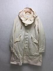 M/16AW/トルファンサテン・モッズコート/コットン/アイボリー/