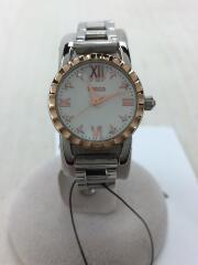 ワイアード/クォーツ腕時計/アナログ/--/VJ21-KJ70/ホワイト/シルバー/白色/銀色