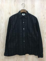 size M/18SS Leno shirt レノストライプ 長袖(CL-18SS036)