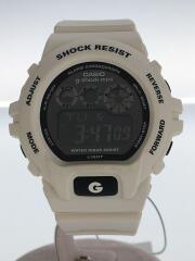 G-SHOCK MINI クォーツ GMN-691-7AJF/デジタル/ブラック ホワイト
