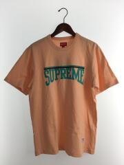 Arch S/S Top/Peach/Tシャツ/M/コットン/BEG/PNK/シュプリーム