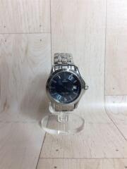OMEGA/オメガ/腕時計/レディース腕時計/アナログ/ブルー/シルバー/クォーツ   SEAMASTER120M シーマスター