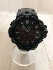 ソーラー腕時計・PROTREK/デジアナ/BLK/CASIO/PROTREK/電波   プロトレック PRW-6000Y-1AJF