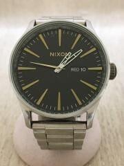 クォーツ腕時計/アナログ/SLV/ニクソン