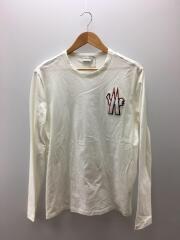 長袖Tシャツ/L/コットン/WHT/ホワイト/C-SCOM-189056/ロゴ