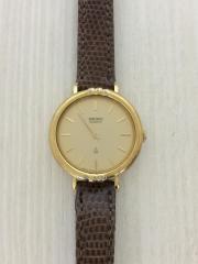 4720-0060/クォーツ腕時計/アナログ/レザー/GLD