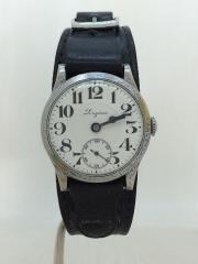 30s/手巻腕時計/スモセコ/ポーセリンダイアル/12型ムーヴ/アンティーク/ヴィン/ビン