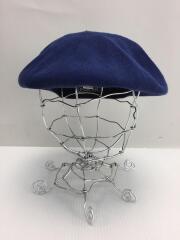 ベレー帽/FREE/ウール/ネイビー/AKI01287/ジーディーシーグランドキャニオン