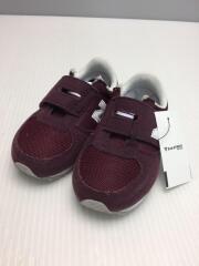 ニューバランスy/キッズ靴/KV220CDI/13cm/スニーカー/ボルドー