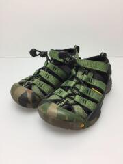 キーン/NEWPORT H2/ニューポート/1014240/キッズ靴/18cm/サンダル/グリーン
