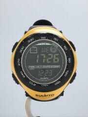腕時計/デジタル/YLW/BLK