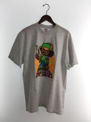 19SS/molotov kid tee/Tシャツ/L/コットン/GRY/無地
