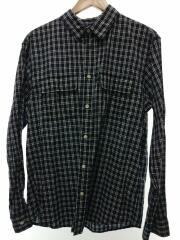 ロングスリーブタンバークシャツ/XL/コットン