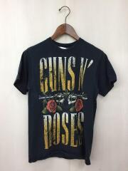 Tシャツ/S/コットン/BLK/プリント/GUNS N ROSES