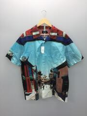 半袖シャツ/XL/コットン/マルチカラー/101202014003/CHINATOWN S/S SHIRT/20SS
