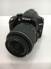 デジタル一眼カメラ D3200 200mm ダブルズームキット [ブラック]