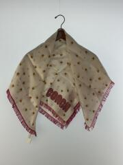 Magic Star Silk Square Scarf/スカーフ/シルク/BEG/73191