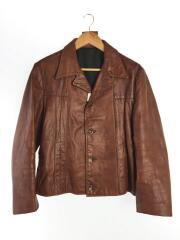 Reed sports wear/70s/レザージャケット・ブルゾン/--/レザー/BRW
