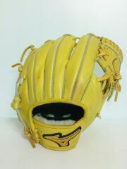 14003 野球用品/Mizuno Pro/軟式用/右利き用/内野手用/YLW